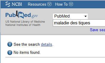 Interroger Medline à La Google